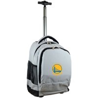 Golden State Warriors 19'' Premium Wheeled Backpack - Black - No Size