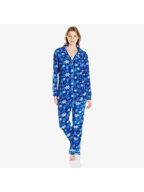 Jessica & Christina Micro Fleece Set | Lounge Sleep Women's Pant & Shirt Soft & Comfortable