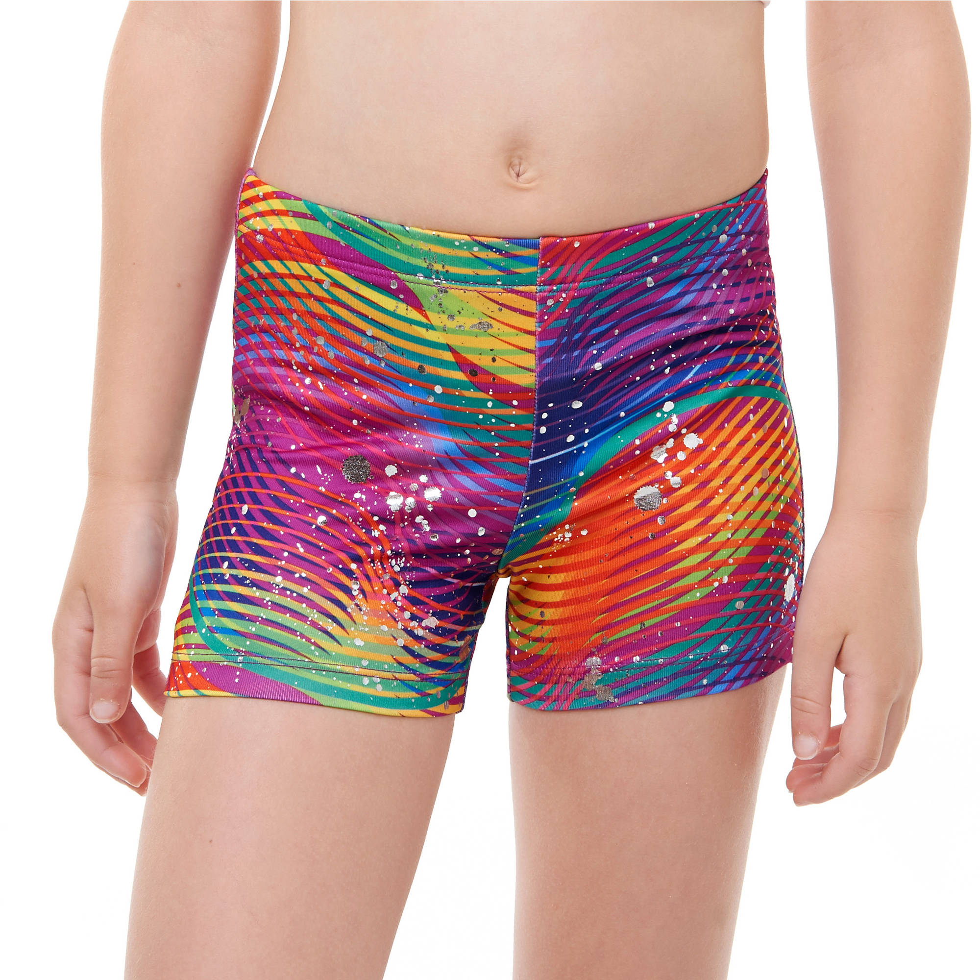 Girls' Print Bike Short