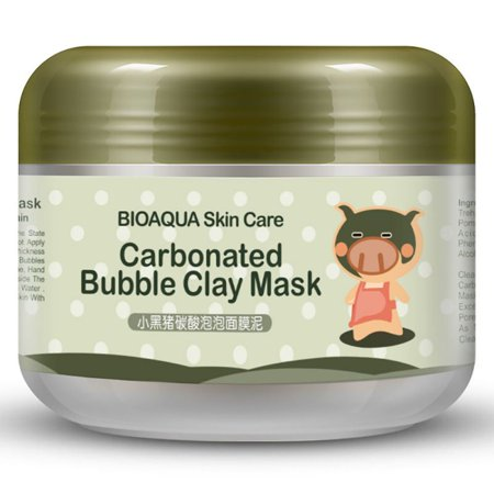 (OUMY 100g Carbonated Bubble Clay Mask Oxygen Mud Whitening Moisturizing)