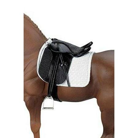 Dressage Womens Saddle (Breyer Traditional Stoneleigh II Dressage Saddle - Black(1:9 Scale))