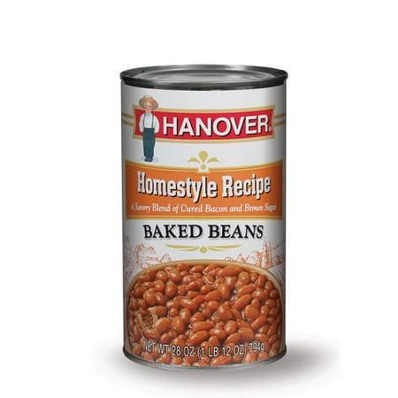 Hanover Homestyle Recipe Baked Beans 28 Oz