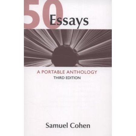 50 essays a portable anthology walmart com