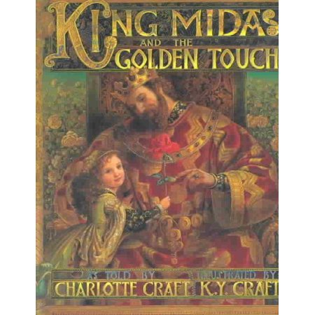 King Midas and the Golden Touch, Charlotte Craft Paperback - image 1 de 1