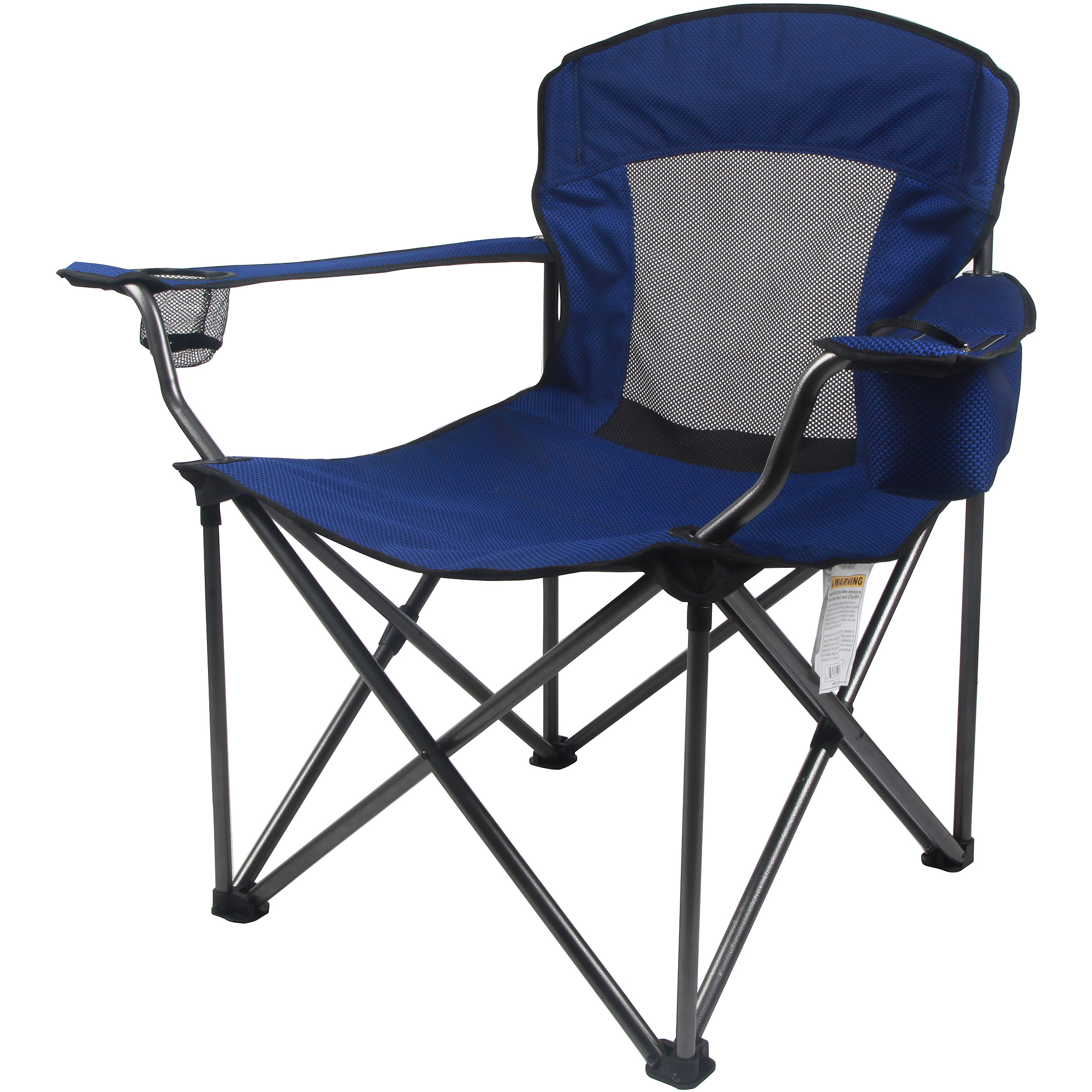 Ozark Trail Deluxe Folding Camping Arm Chair Walmart
