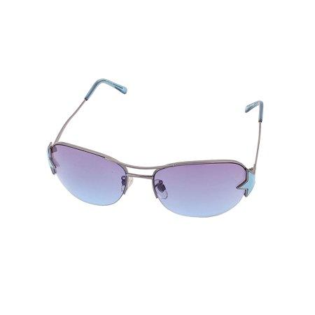 Leopard Print Plastic Frame Deep Green Sunglasses for Woman Lady - image 1 de 2