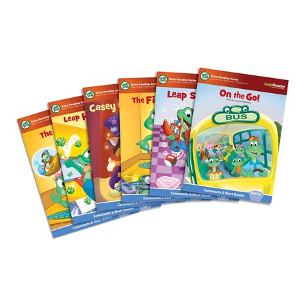 Leapreader Learn To Read  Volume 1  Works With Tag   New Works Set Leapfrog System Read Book Hardware Songs To Consonant Scout 10 Social Bundle Sounds Leapreader    By Leapfrog
