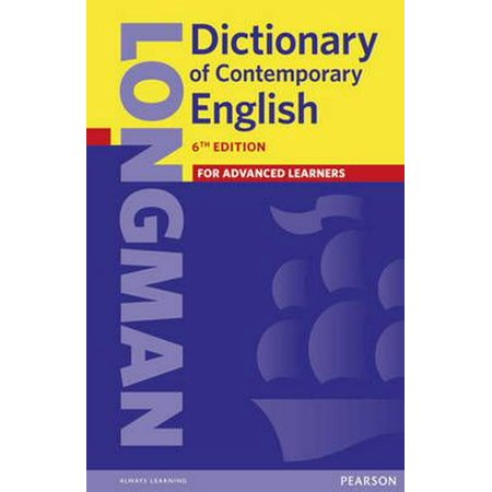 Longman Dictionary of Contemporary English 6 (Paperback)