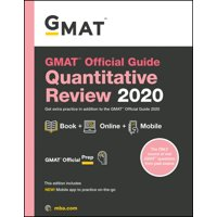 GMAT Official Guide 2020 Quantitative Review : Book + Online Question Bank