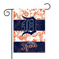 "Detroit Tigers Sparo 13"" x 18"" Double-Sided Garden Flag with Pole - No Size"