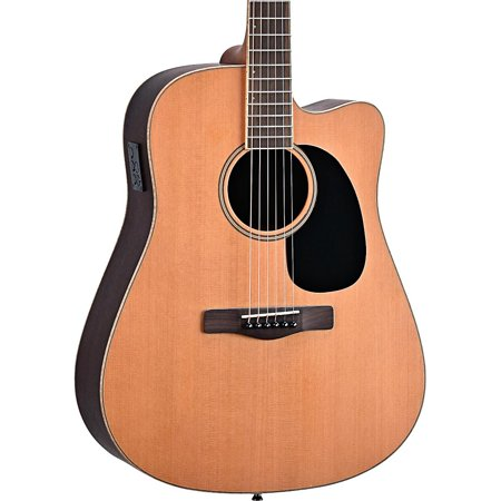 - Mitchell Element Series ME2CEC Dreadnought Cutaway Acoustic-Electric Guitar Natural Indian Rosewood back/sides, Solid Red Cedar top