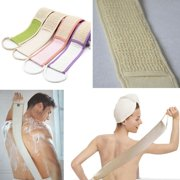 Rubbing belt Exfoliating Loofah Loofa Back Strap Bath Shower Body Sponge Body Scrubber Brush