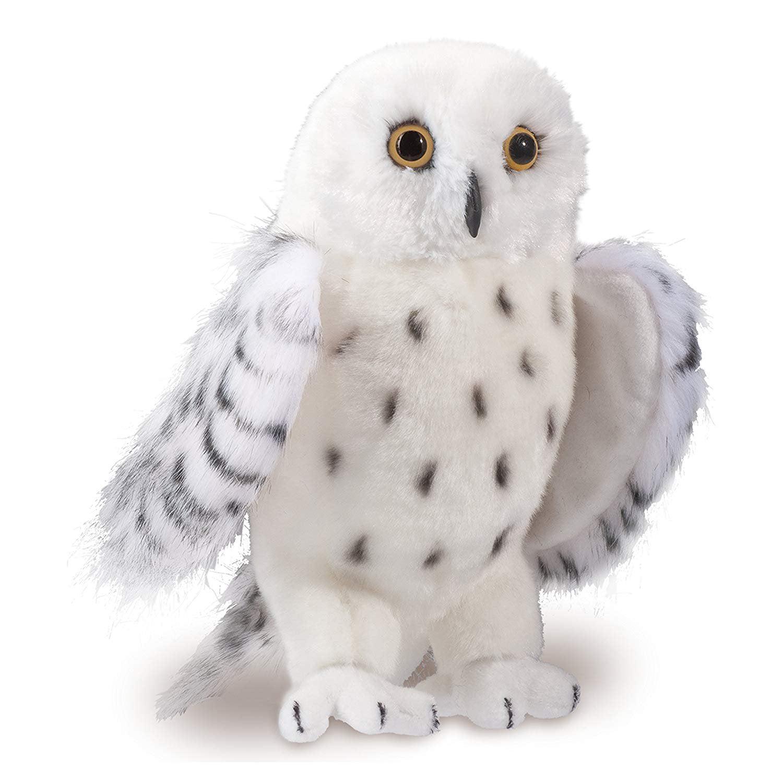 Douglas Wizard Snowy Owl Plush Stuffed Animal Original Version