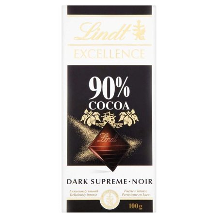 Lindt Excellence 90% Dark Supreme Chocolate Bar 100g - Pack of - Linus Halloween
