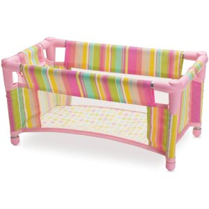 "Manhattan Toy Baby Stella, Take Along Travel Crib for 15"" Dolls"