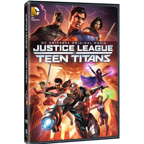 DC Universe Original Movie: Justice League Vs Teen Titans by