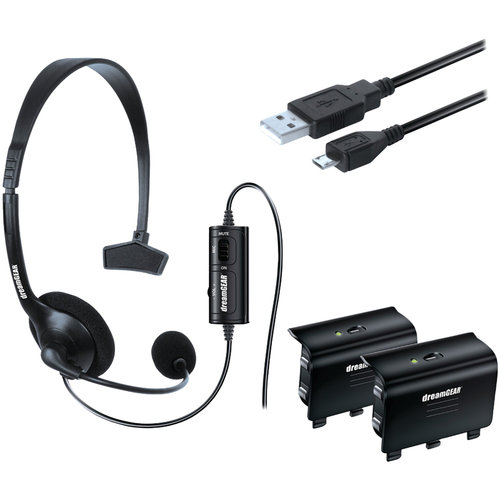 dreamGEAR DGXB1-6620 Xbox One Essentials Gaming Kit