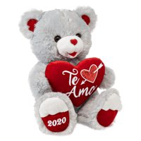 "Way To Celebrate Valentine's Day 2020 Sweetheart Teddy Bear, Te Amo, 19"""