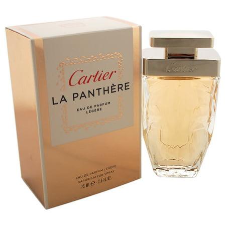Cartier La Panthere Legere Eau de Parfum Spray For Women 2.5 Oz