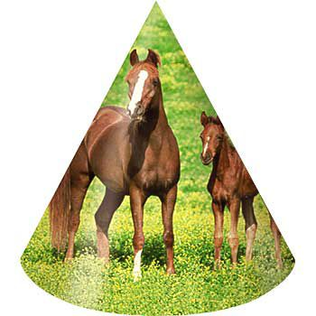 Pony Party Hats (8-pack) - Party Supplies