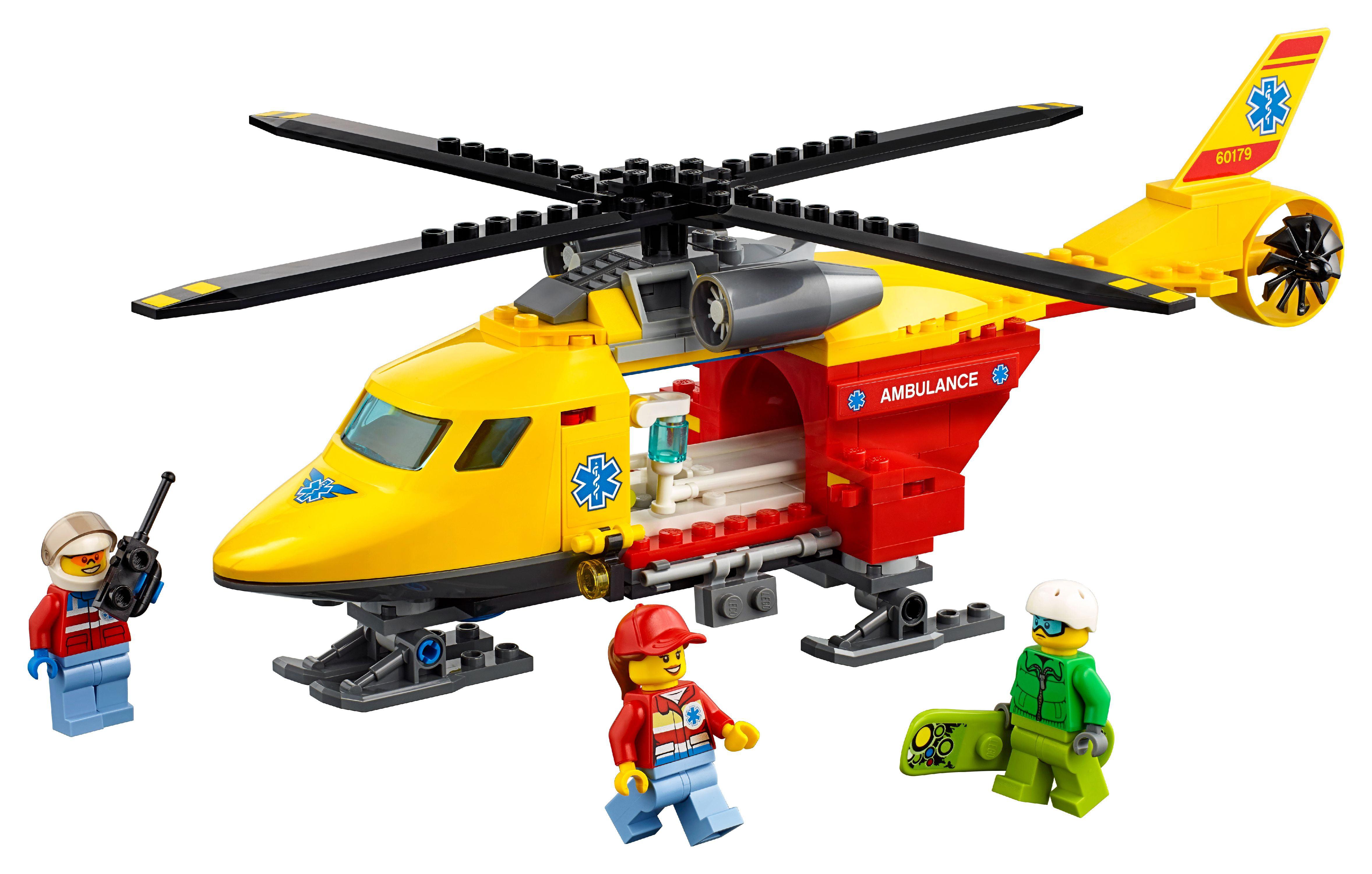 Lego City Ambulance Helicopter 60179 by LEGO System Inc
