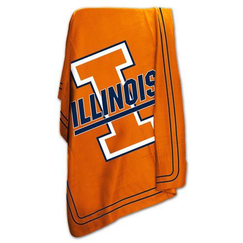Illinois Fighting Illini Classic Fleece Blanket