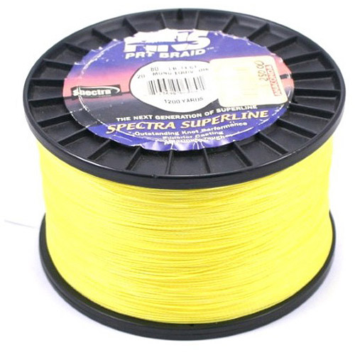 Fins Spectra Fishing Line, IGFA Class, Yellow by Fins Spectra