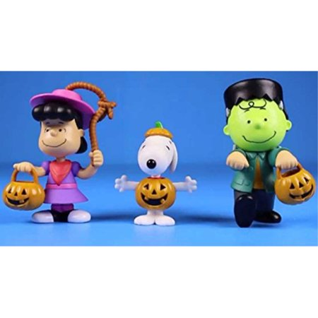 Peanuts Halloween Figures 2019 (Peanuts Worldwide Lucy Snoopy and Charlie Brown Halloween Figures for)