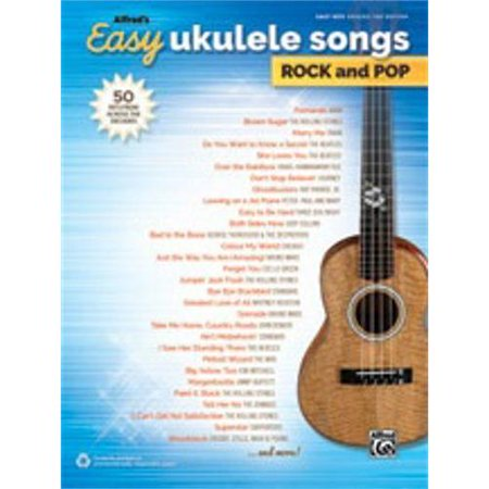 Alfred Alfred's Easy Ukulele Songs: Rock and