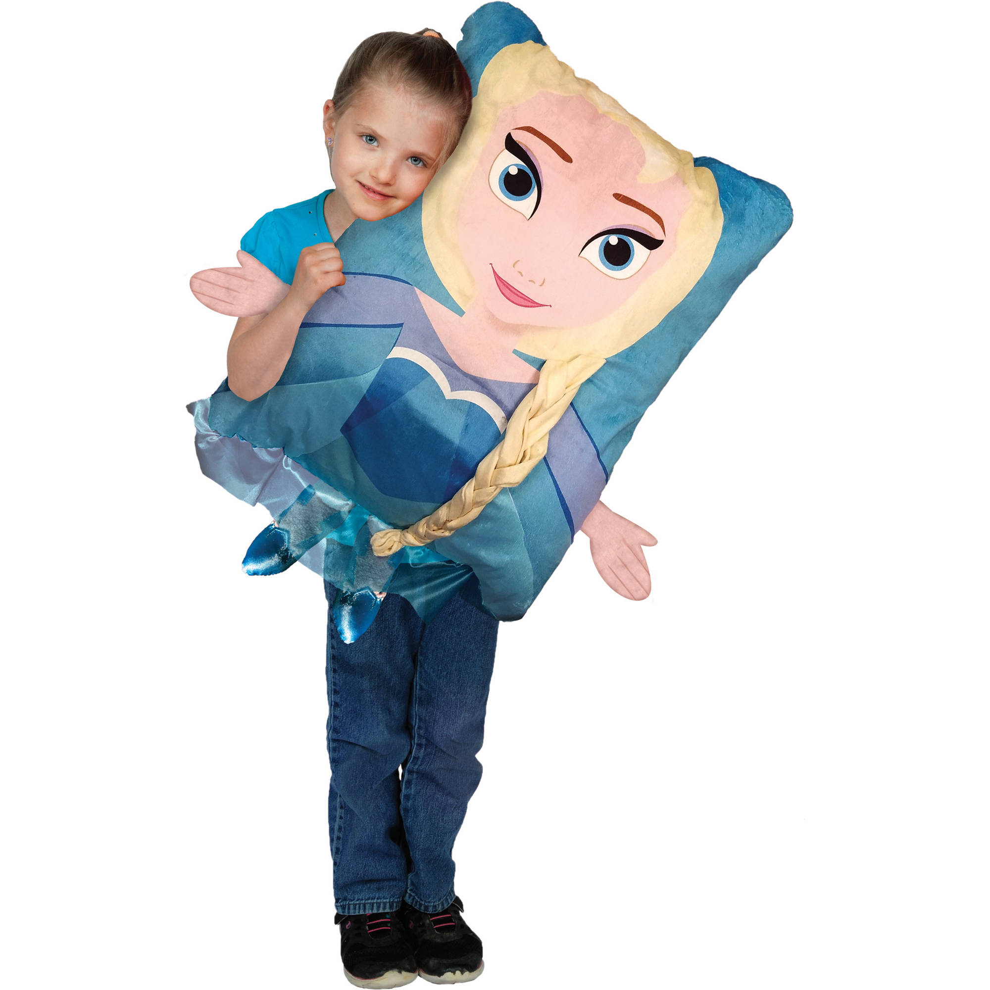 "Disney's Frozen Elsa Kids 3-D Pillow Buddy, 20"" x 26"""