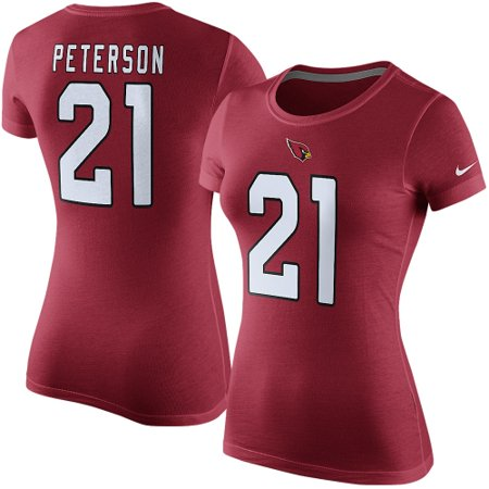 Patrick Peterson Arizona Cardinals Nike Women's Player Name & Number T-Shirt - Cardinal Arizona Ladies Player Series