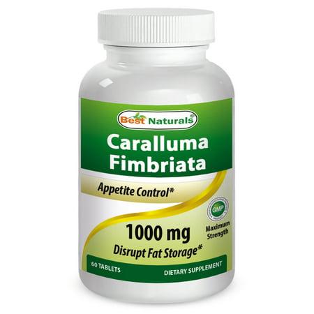 Best Naturals Caralluma Fimbriata 1000 mg 60 Tablets ...