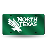 North Texas Mean Green NCAA Laser Cut License Plate Tag