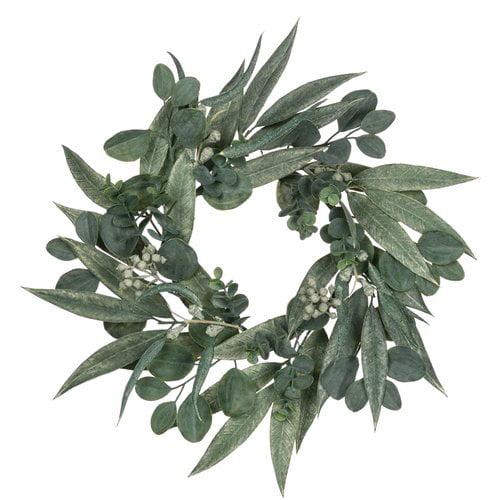 August Grove California Eucalyptus Polyester Wreath