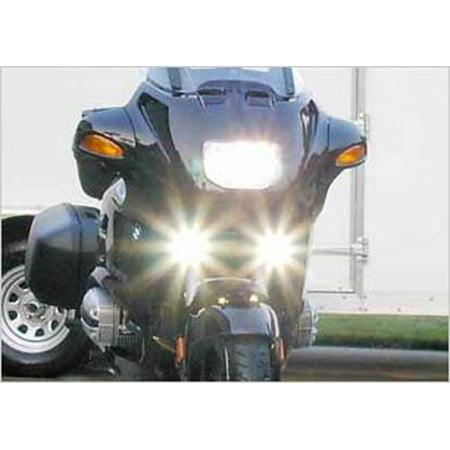 1993-2009 HARLEY-DAVIDSON DYNA LOW RIDER FOG LIGHTS LAMP KIT 2001 2002 2003 2004 2005 2006 2007 (Motorcycle Rides 2008)