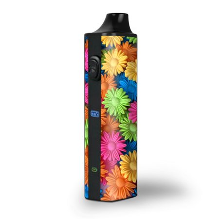Skins Decals for Pulsar APX Herb Vape / Colorful Wax Daisies