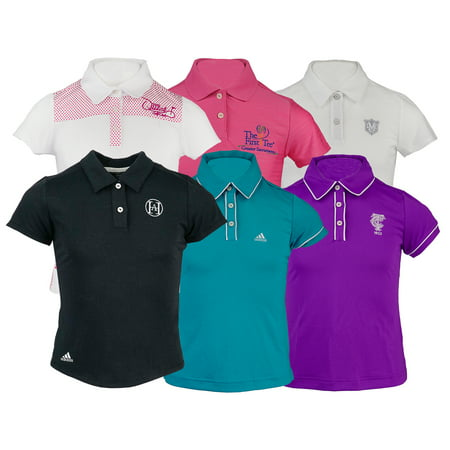 Adidas Womens Polos (2-Pack adidas Girl's Logo Overrun Polo Shirt Assorted Colors)