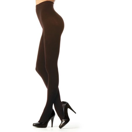 Microfiber Running Tights - Melas MICROFIBER SHAPER OPAQUE TIGHTS  AT-713 S/M- / Dark Chocolate AT 713