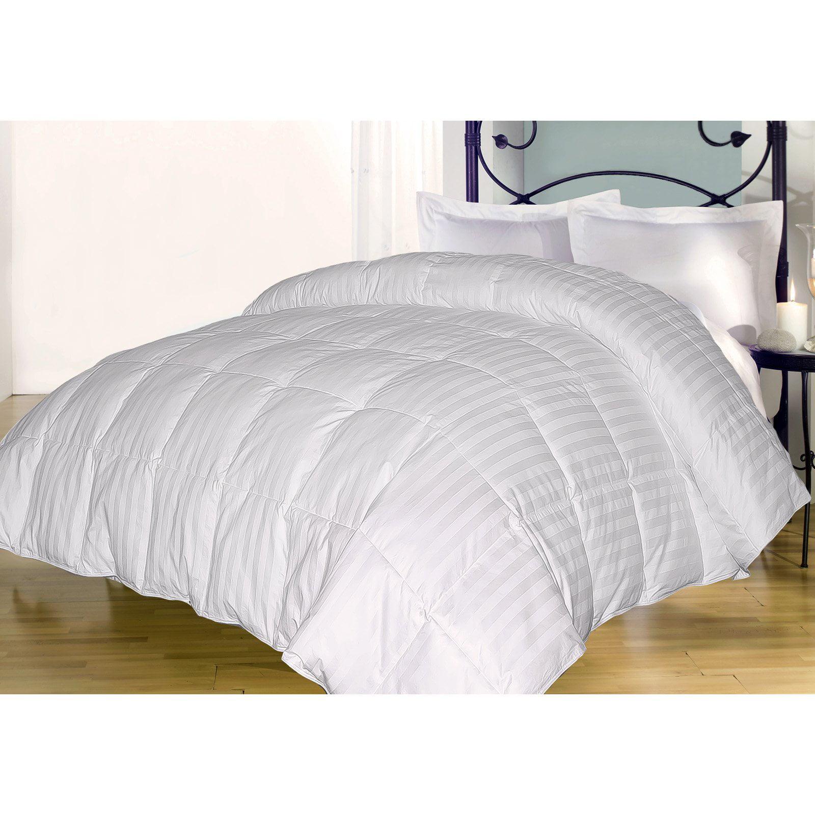 350 damask stripe down alternative comforter walmart com