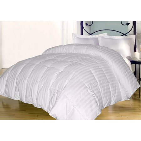 350 Damask Stripe Down Alternative Comforter