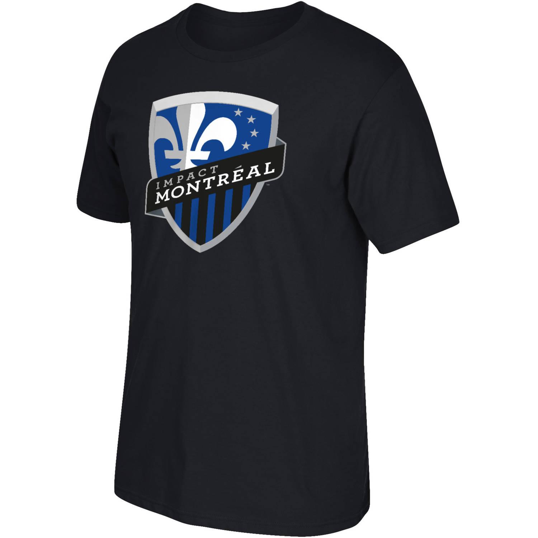 MLS Montreal Impact Big Mens Oversized Logo Short Sleeve Tee, 2XL