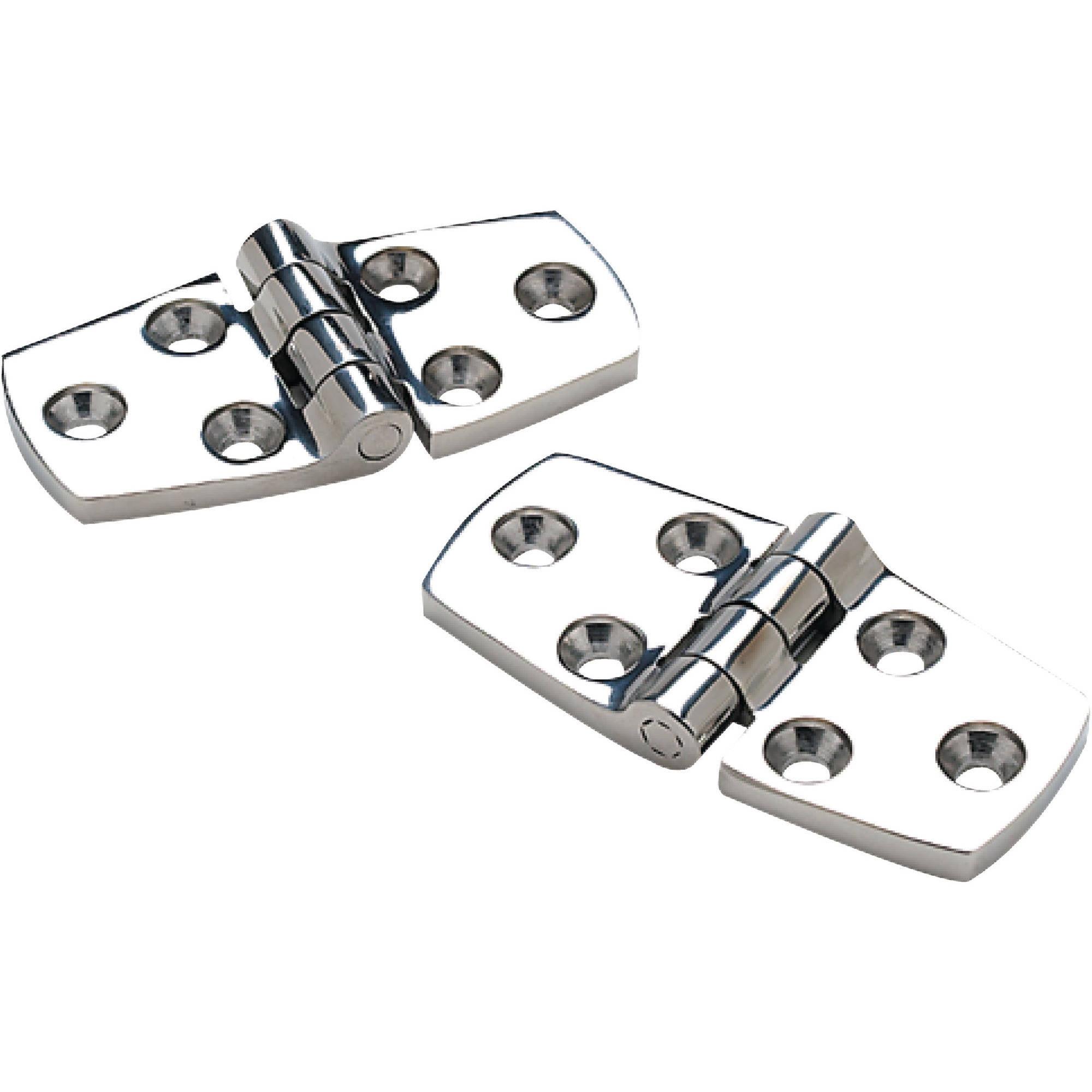 Seachoice Stainless Steel Door Hinges, 1 Pair