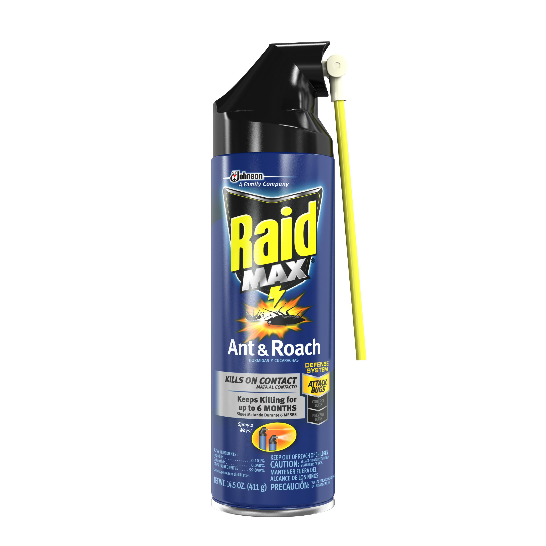 Raid Max Ant & Roach Killer 14.5oz