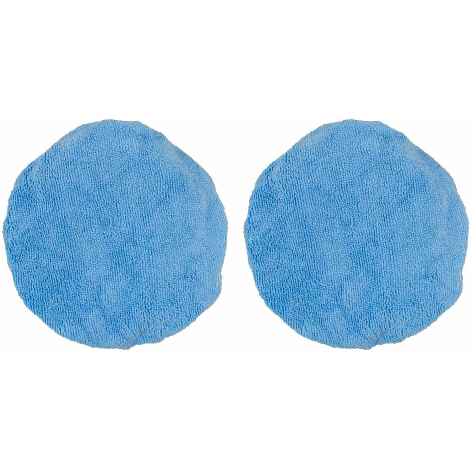 "Detailer's Choice 6-356 5"" to 6"" Microfiber Bonnets, 2-Pack"