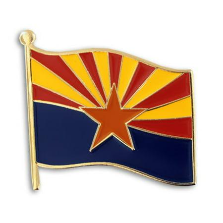 Arizona US State Flag AZ Enamel Lapel Pin 1
