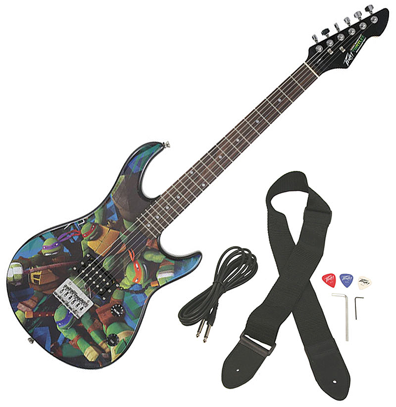 Peavey Rockmaster Full Size TMNT Teenage Mutant Ninja Turtles Electric Guitar