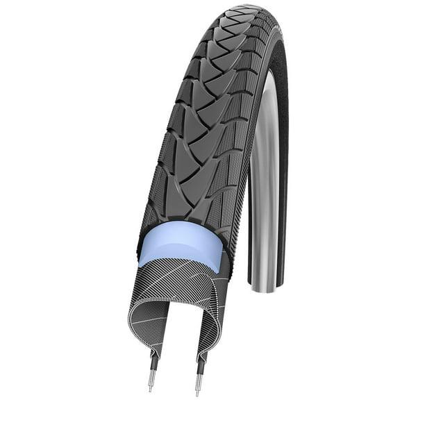 """Schwalbe Marathon Plus Bicycle Wheelchair Tyre 26 x 1.00 25-559 26/"""" Black"""