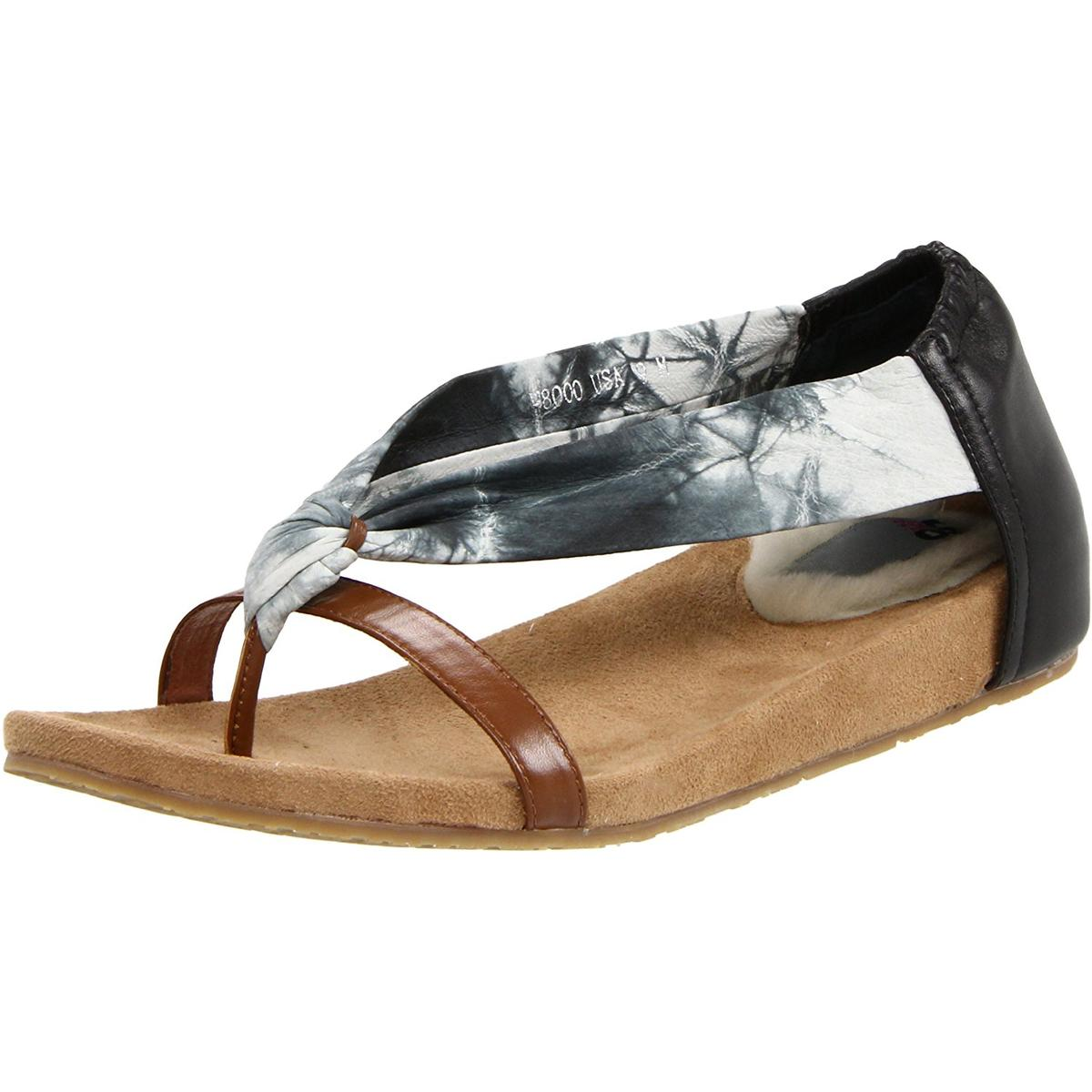 Lamo Up-Tied Womens Black Sandals by Lamo