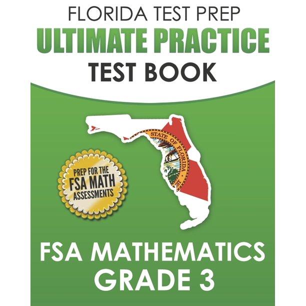 FLORIDA TEST PREP Ultimate Practice Test Book FSA ...