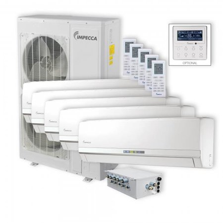 Impecca Isfw 6009x5 Flex Wall Mounted 5 Unit Combination